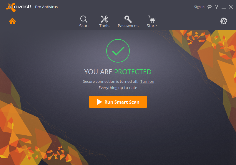 Click to view Avast Pro Antivirus screenshots